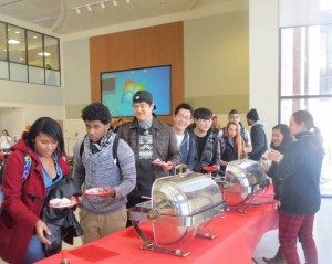 The campus community enjoyed the Chinese culture during a New Year celebration.