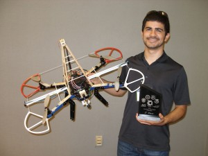 Borges placed third in the national competition in Dayton. Photo courtesy of Team Orbit.
