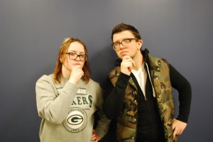 Elizabeth Oestricher (left) and Cameron Prine (right) are contributors to The Collegian.