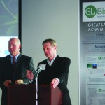 LCCC President Dr. Roy Church and GL Bio founder CEO Tom Tyrell announced the opening of the first biomimicry technology center for a community college to promote innovation development in Northeast Ohio on Feb. 25.         Alex Delaney-Gesing| The Collegian