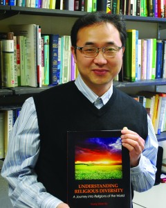 LCCC associate professor of philosophy and religion, Dr. Young Ko.