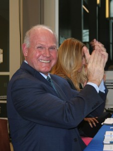 LCCC's current president, Dr. Roy Church reacts to the news.
