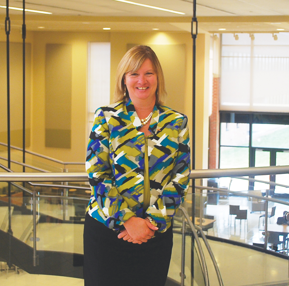 Lorain County Community College's new president, Dr. Marcia Ballinger has high expectations for the institution. Photo by Kristin Hohman
