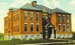 Submitted photo Above is the former Brownell Building in Lorain, which held the college's first classes. It was built in 1904 and demolished in 1984.